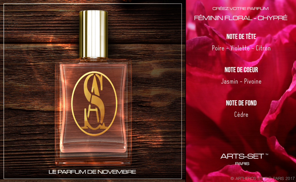 Formulation parfum ARTS-SET