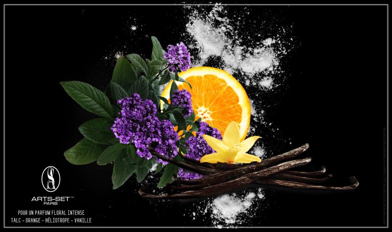 Floral intense Arts-set